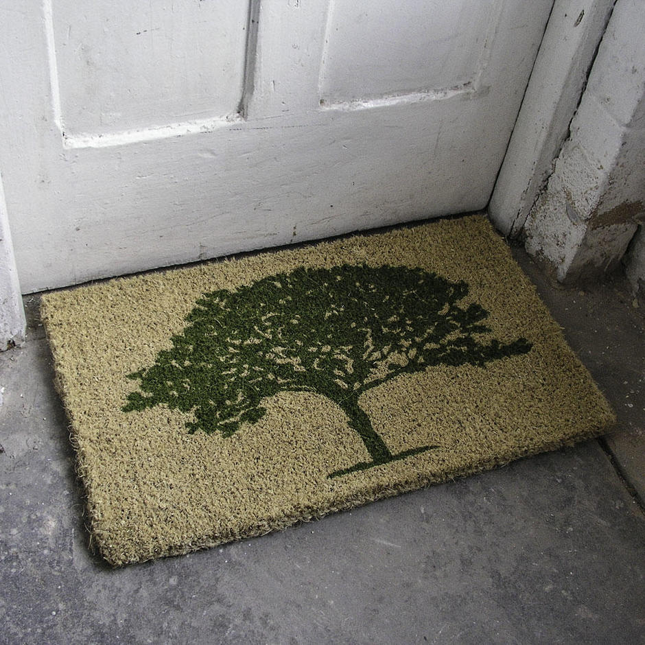 Coir Oak Tree Doormat