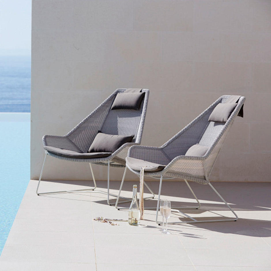 Buy Breeze Outdoor Lounge Chairs By Cane Line The Worm That Turned