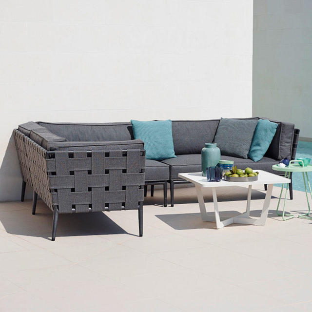 buy conic outdoor lounge by cane line the worm that. Black Bedroom Furniture Sets. Home Design Ideas