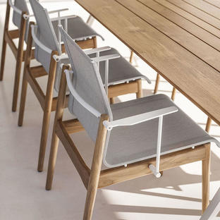 Sway Teak Dining Chair