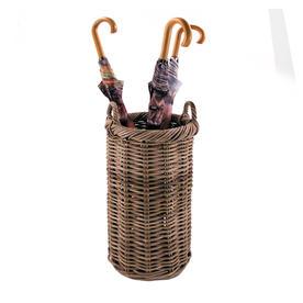 Rattan Tall Umbrella Basket