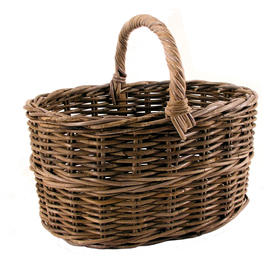 Rattan Country Basket