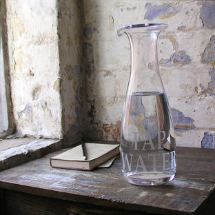 Glass Water Carafe