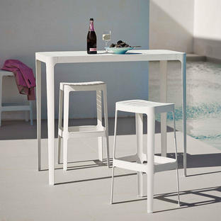 Cut Bar Stools and Tables