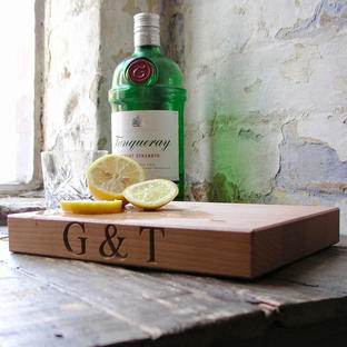 Gin & Tonic Chopping Board