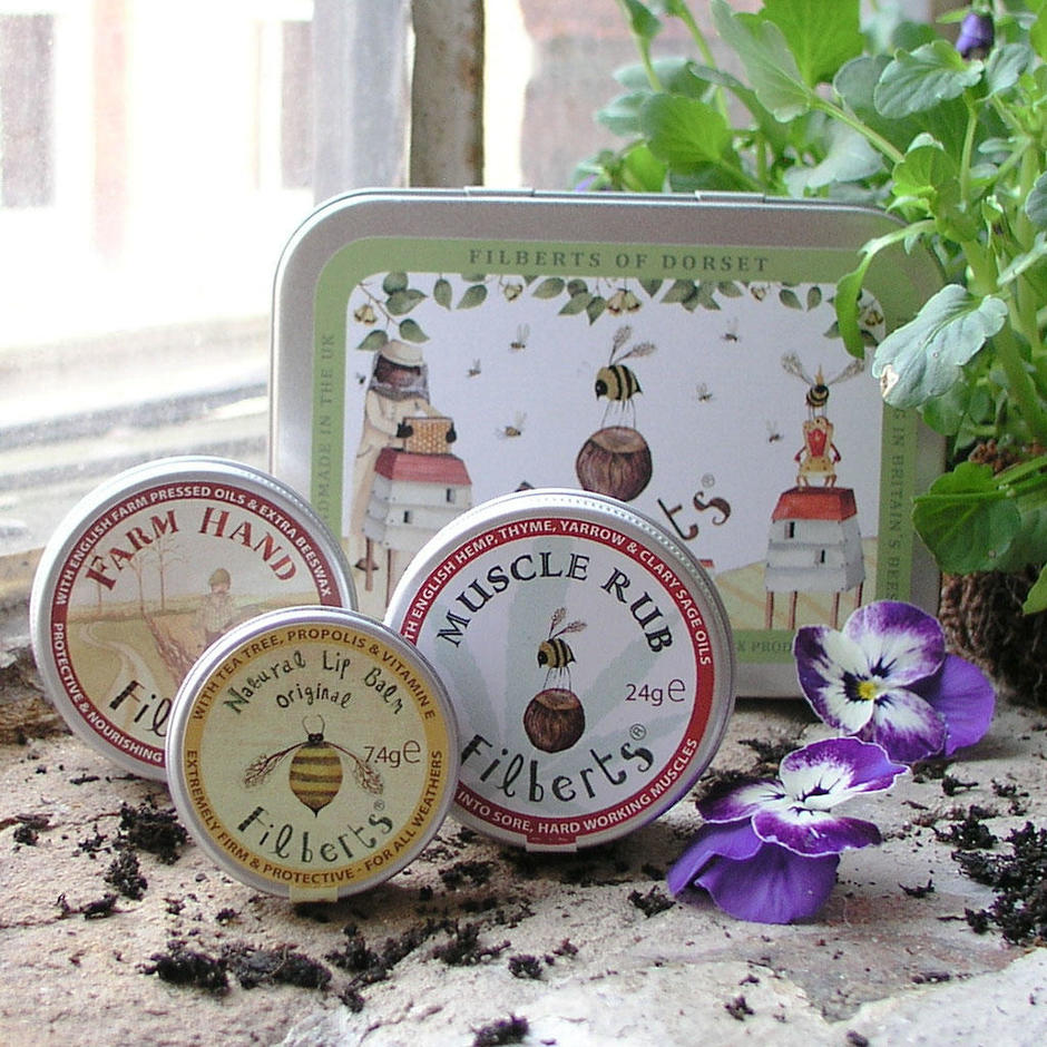 Filberts Bees Gift Tin for The Great British Outdoors