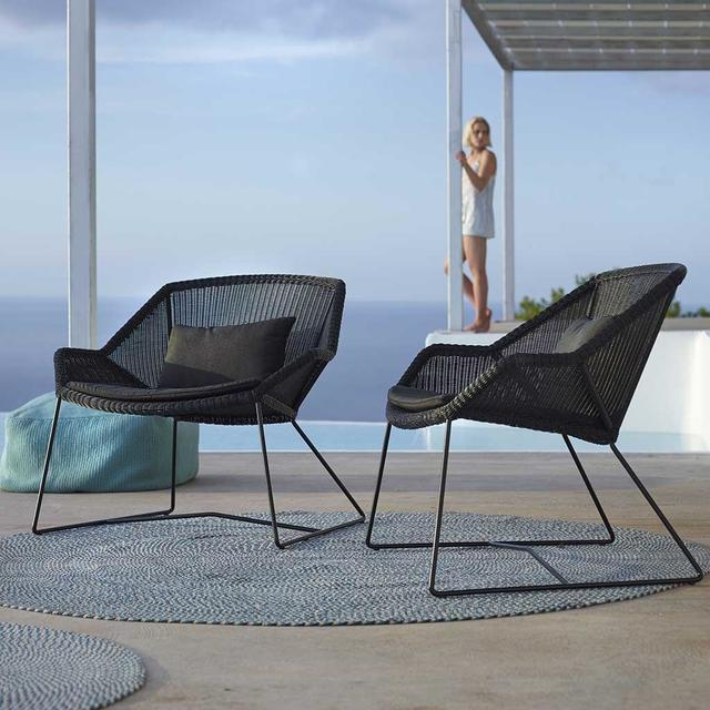 Buy Breeze Outdoor Lounge Chairs By Cane Line The Worm