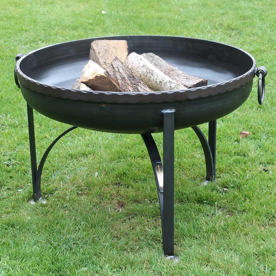 Plain Jane Firepit with Indian Band