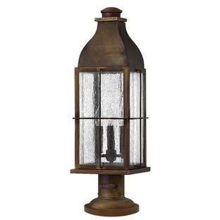 Bingham Outdoor Pedestal Lantern