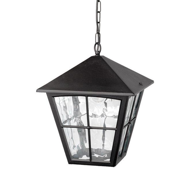 Outdoor Pendant Porch Light Uk: Buy Edinburgh Outdoor Hanging Lantern By Elstead Lighting