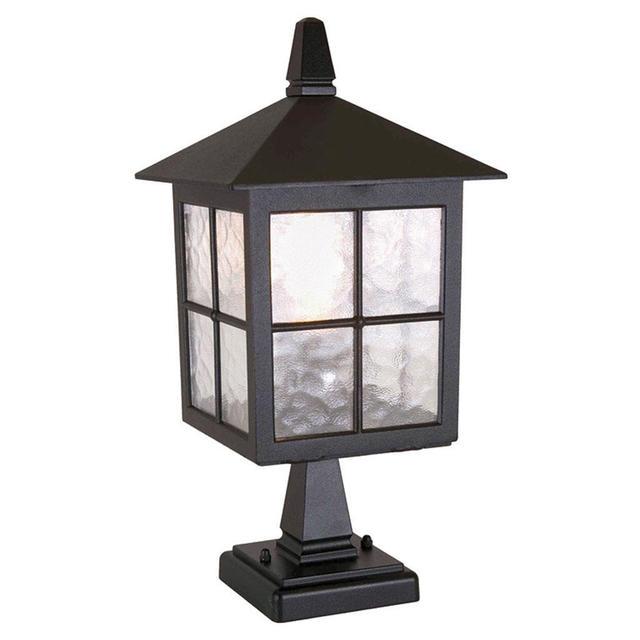 Buy Winchester Outdoor Pedestal Lantern By Elstead