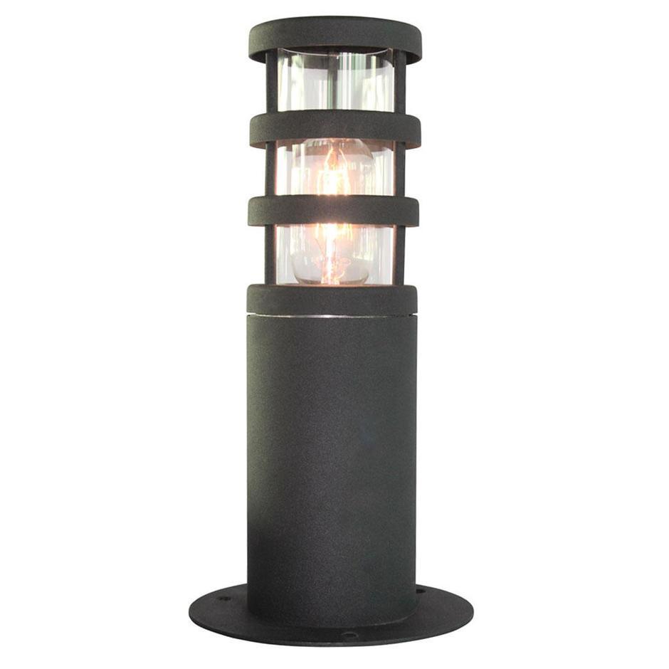 Dark Verdigris Green Ornate Pedestal Light: Buy Hornbaek Outdoor Pedestal Lantern By Elstead Lighting