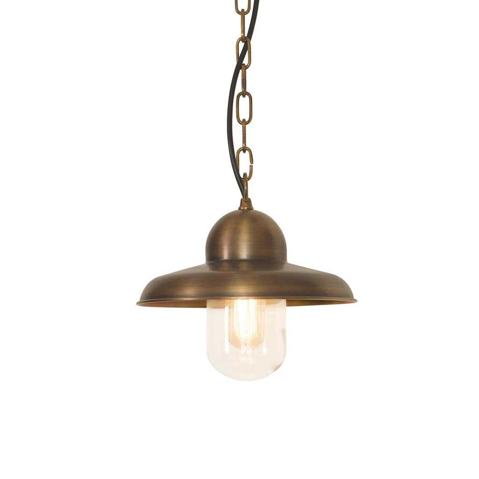 Somerton Brass Outdoor Hanging Lanterns