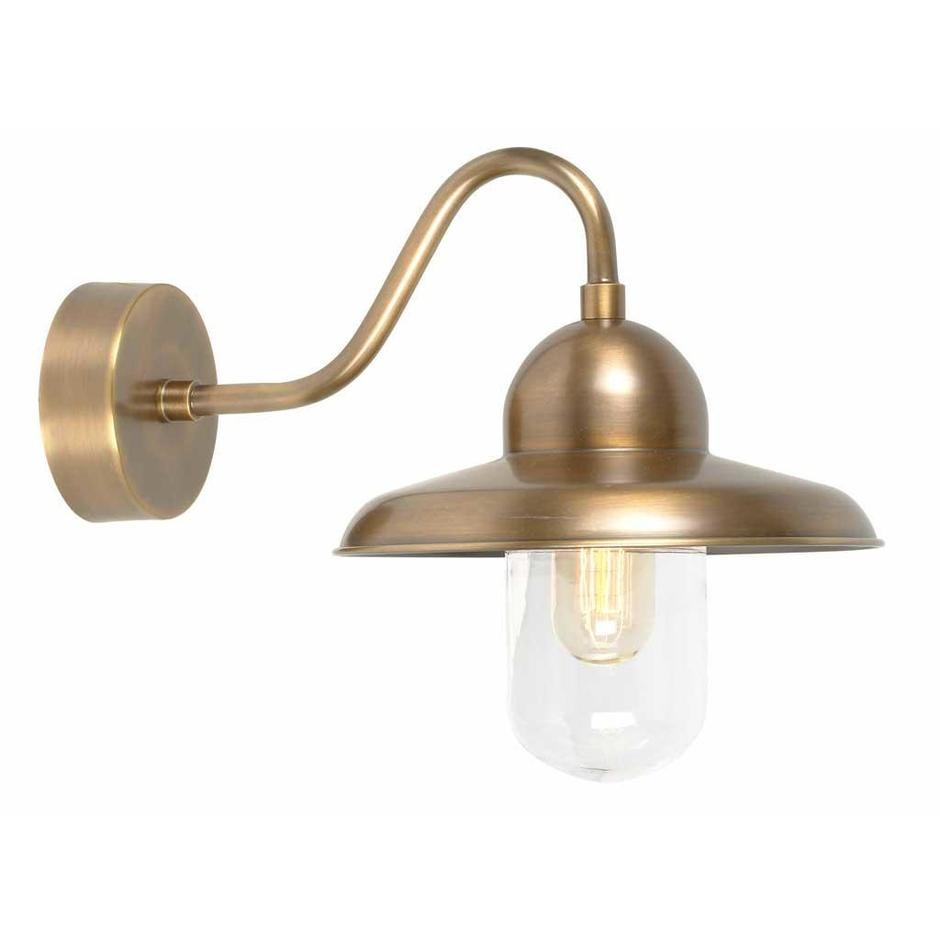 Somerton Brass Outdoor Wall Lanterns
