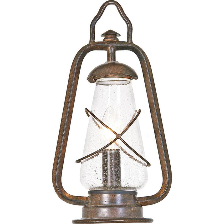 Miners Outdoor Pedestal Lantern