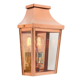 Chelsea Grande Outdoor Up Wall Lanterns