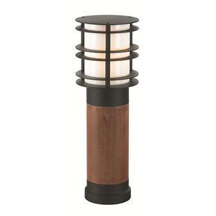 Stockholm Wooden Outdoor Bollard Lanterns