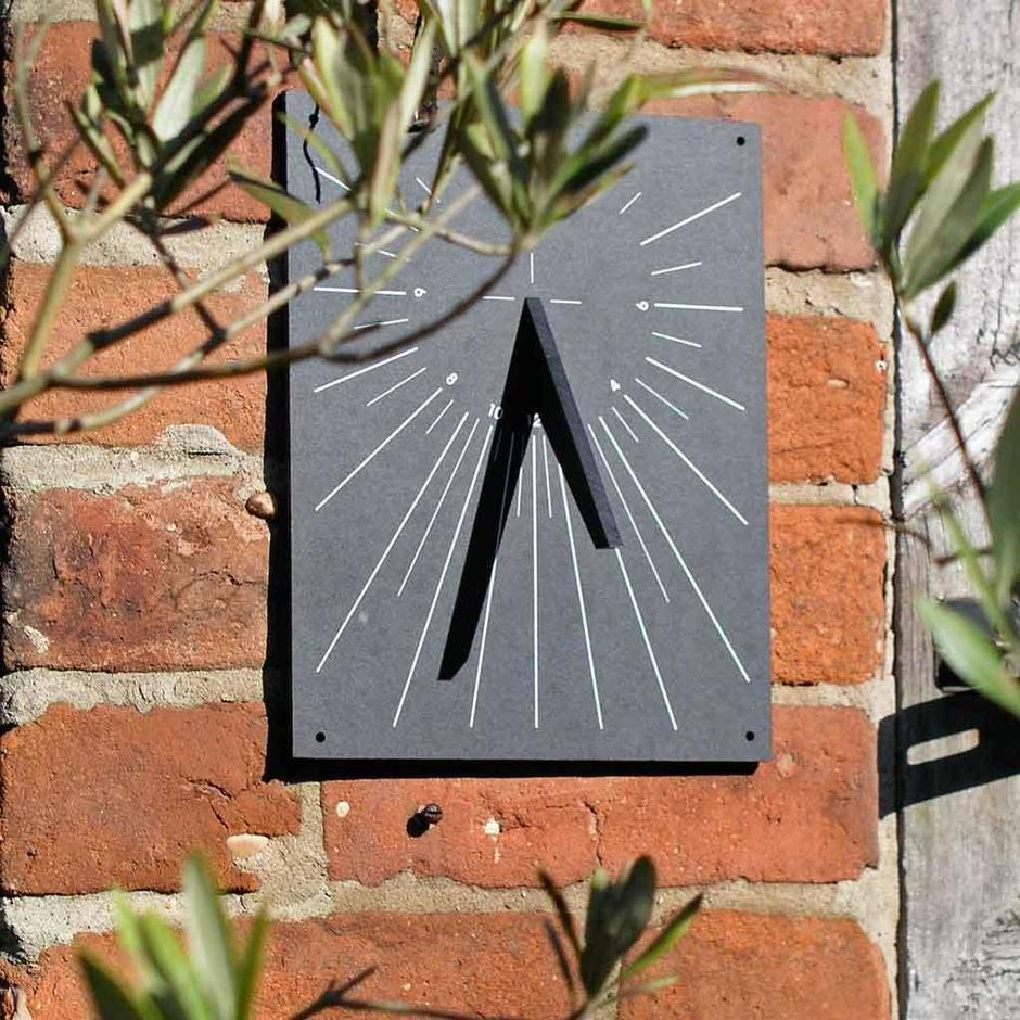 Recycled Wall Sundial