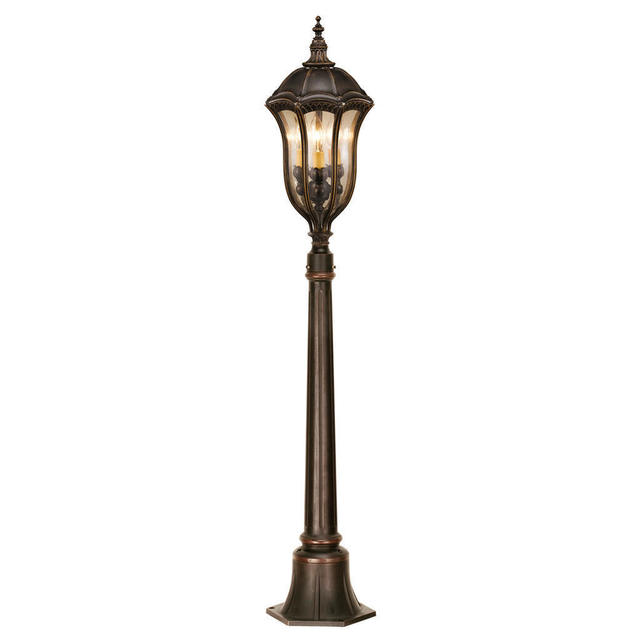 Baton Rouge Outdoor Pedestal Lantern By Feiss: Buy Baton Rouge Outdoor Pillar/Post Lanterns By Feiss