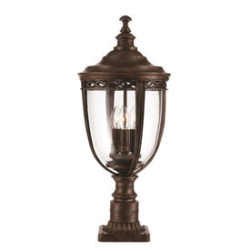 English Bridle Outdoor Pedestal Lanterns