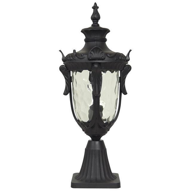 Elstead York Pedestal Lantern Light Black: Buy Philadelphia Outdoor Pedestal Lanterns By Elstead
