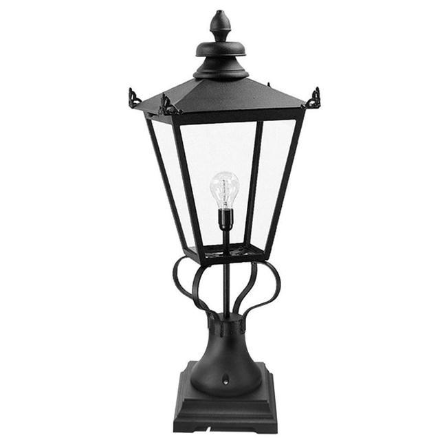 Buy Wilmslow Outdoor Pedestal Lanterns By Elstead Lighting