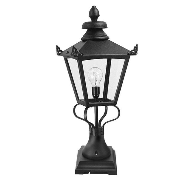 Buy Turin Outdoor Pedestal Lanterns By Norlys: Buy Grampian Outdoor Pedestal Lanterns By Elstead Lighting