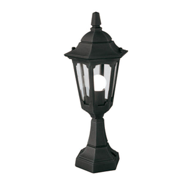 Buy Turin Outdoor Pedestal Lanterns By Norlys: Buy Parish Mini Outdoor Pedestal Lantern By Elstead