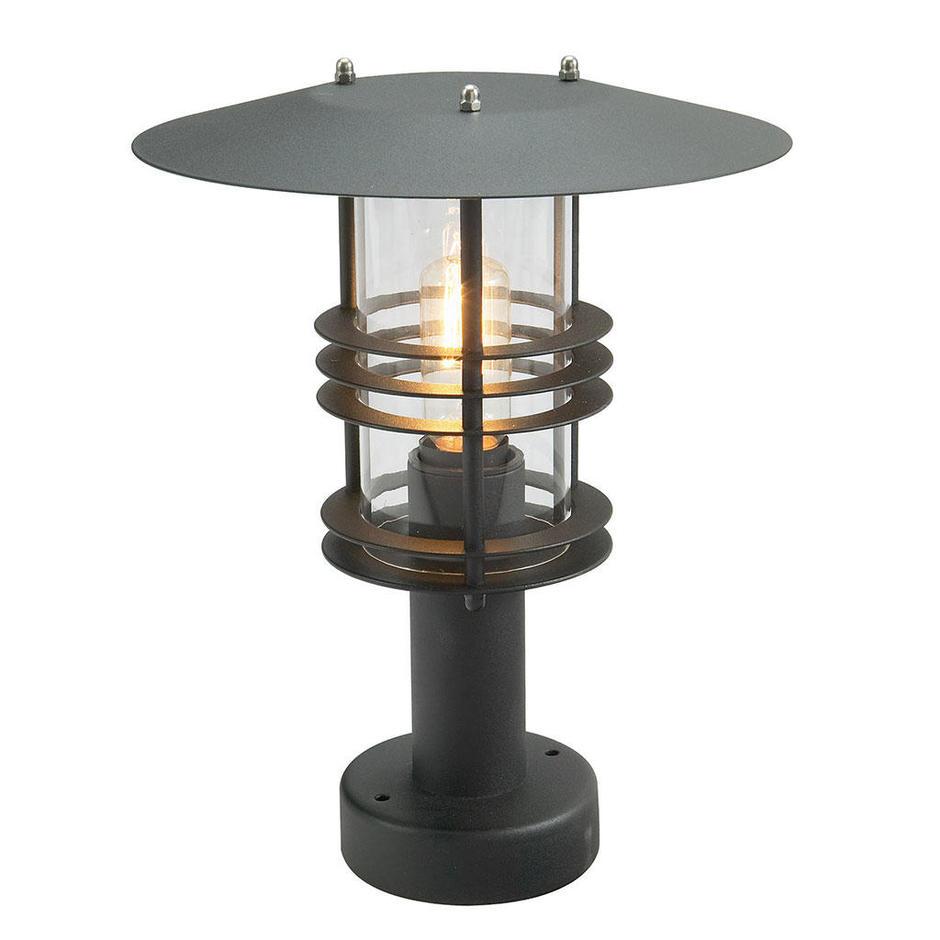 Stockholm Outdoor Pedestal Lanterns