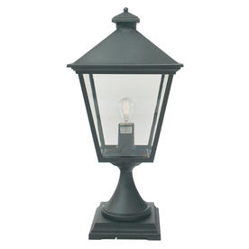 Turin Outdoor Pedestal Lanterns