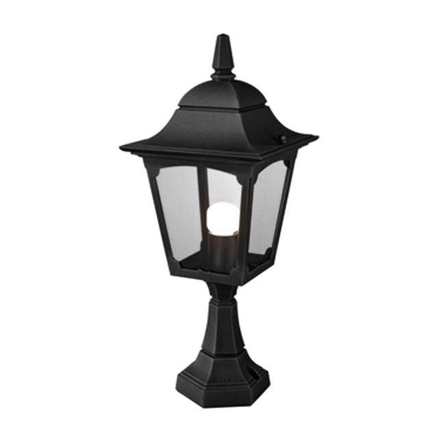 Buy Chapel Outdoor Pedestal Lantern By Elstead Lighting