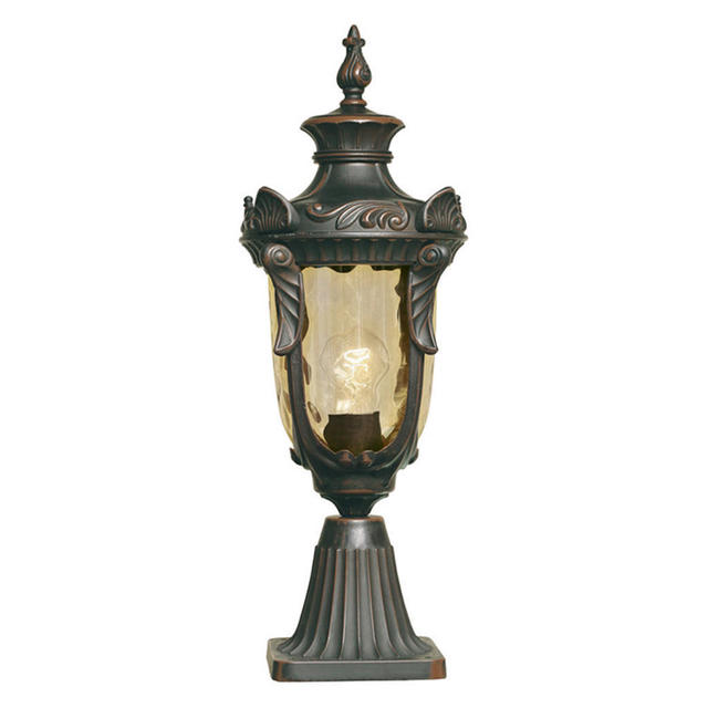 Parish Mini Pedestal Lantern: Buy Philadelphia Outdoor Pedestal Lanterns By Elstead