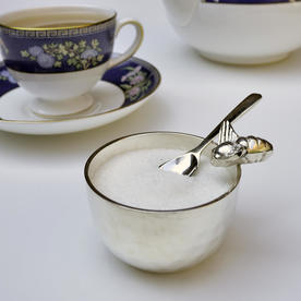 Honey Bee Sugar Bowl and Spoon