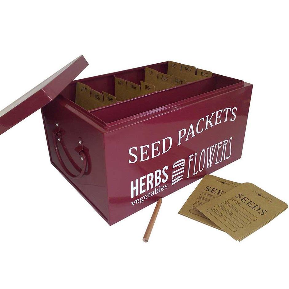 Seed Packet Storage Organiser