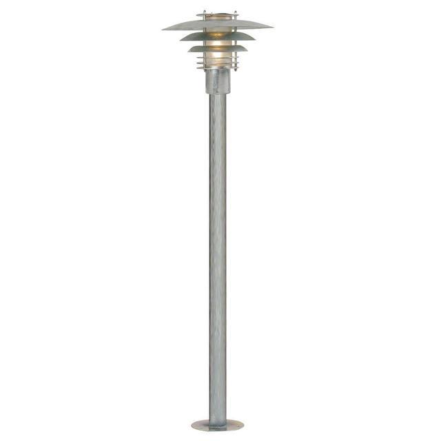 buy phoenix mini outdoor pillar lighting by nordlux the worm that