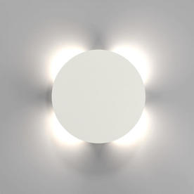Uno Disc LED Outdoor Wall Lighting