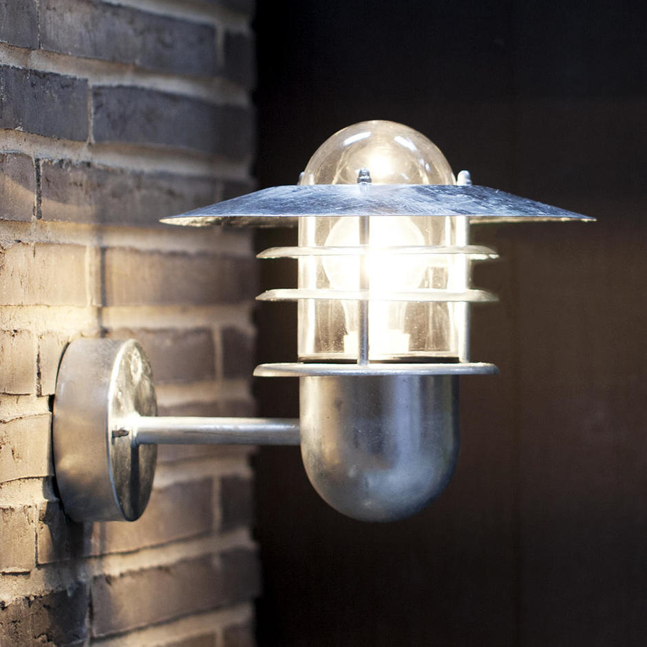 Agger Outdoor Wall Light