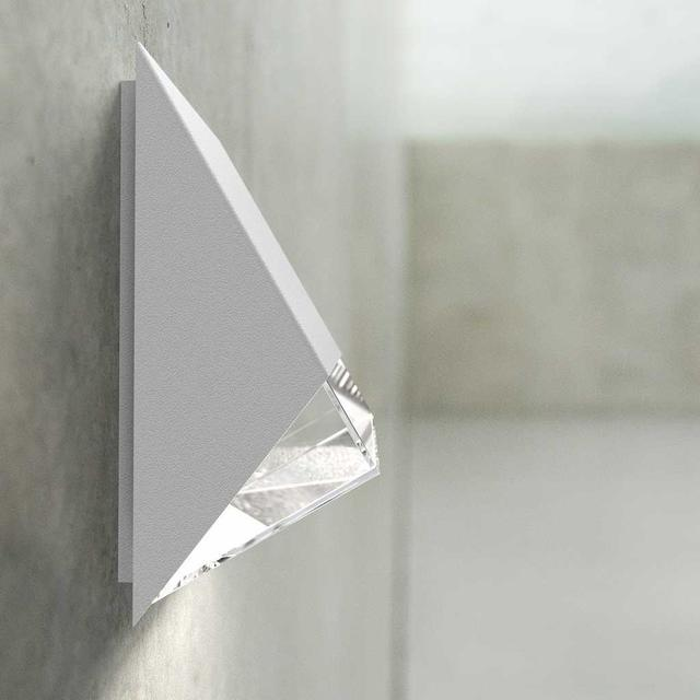 Small Flat Wall Lights : Buy Edge Outdoor Wall Lighting by Nordlux ? The Worm that Turned - revitalising your outdoor space