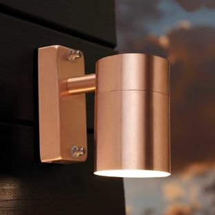 Tin Outdoor Wall Lighting