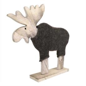 Wooden Reindeer & Coat