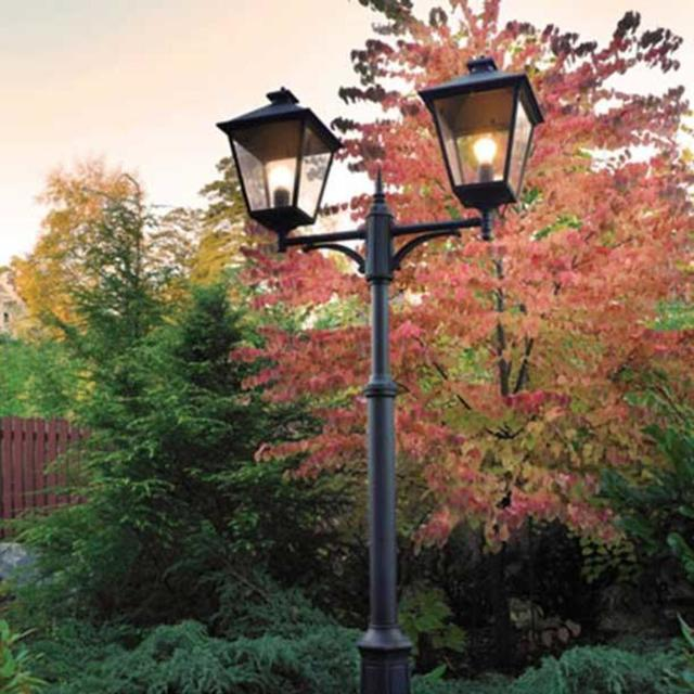 Buy Turin Outdoor Pedestal Lanterns By Norlys: Buy Turin Grande Outdoor Post Lanterns