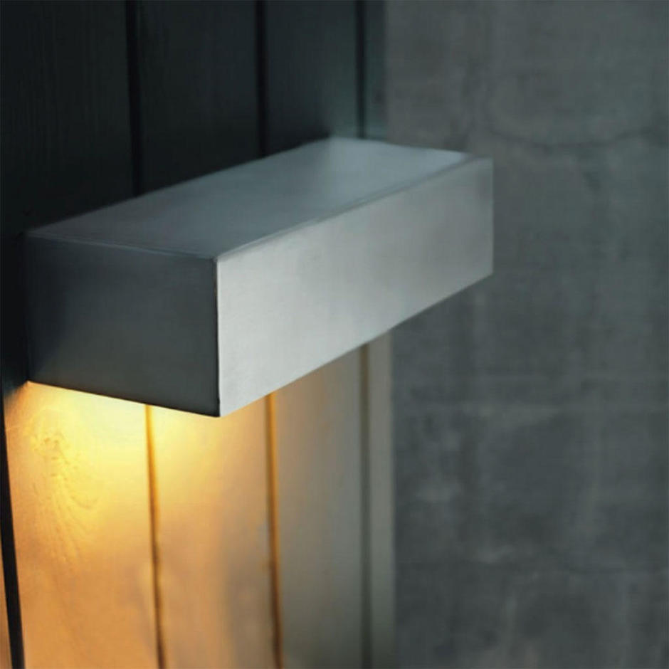 Square Outdoor Wall Lighting