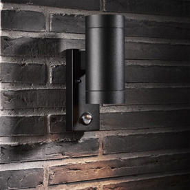Tin Outdoor Maxi Wall Lighting with Sensor
