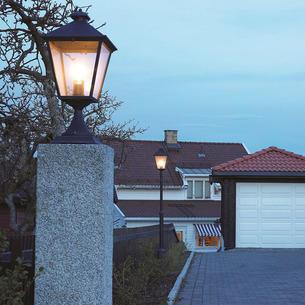 Outdoor pedestal lighting turin outdoor pedestal lanterns aloadofball Gallery