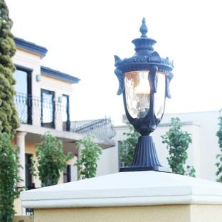 Philadelphia Outdoor Pedestal Lanterns