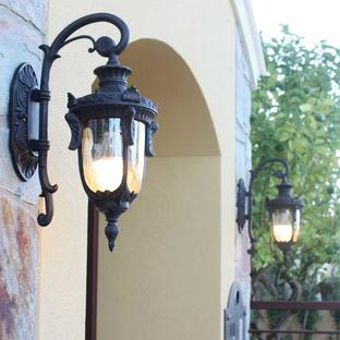 Philadelphia Outdoor Down Wall Lanterns