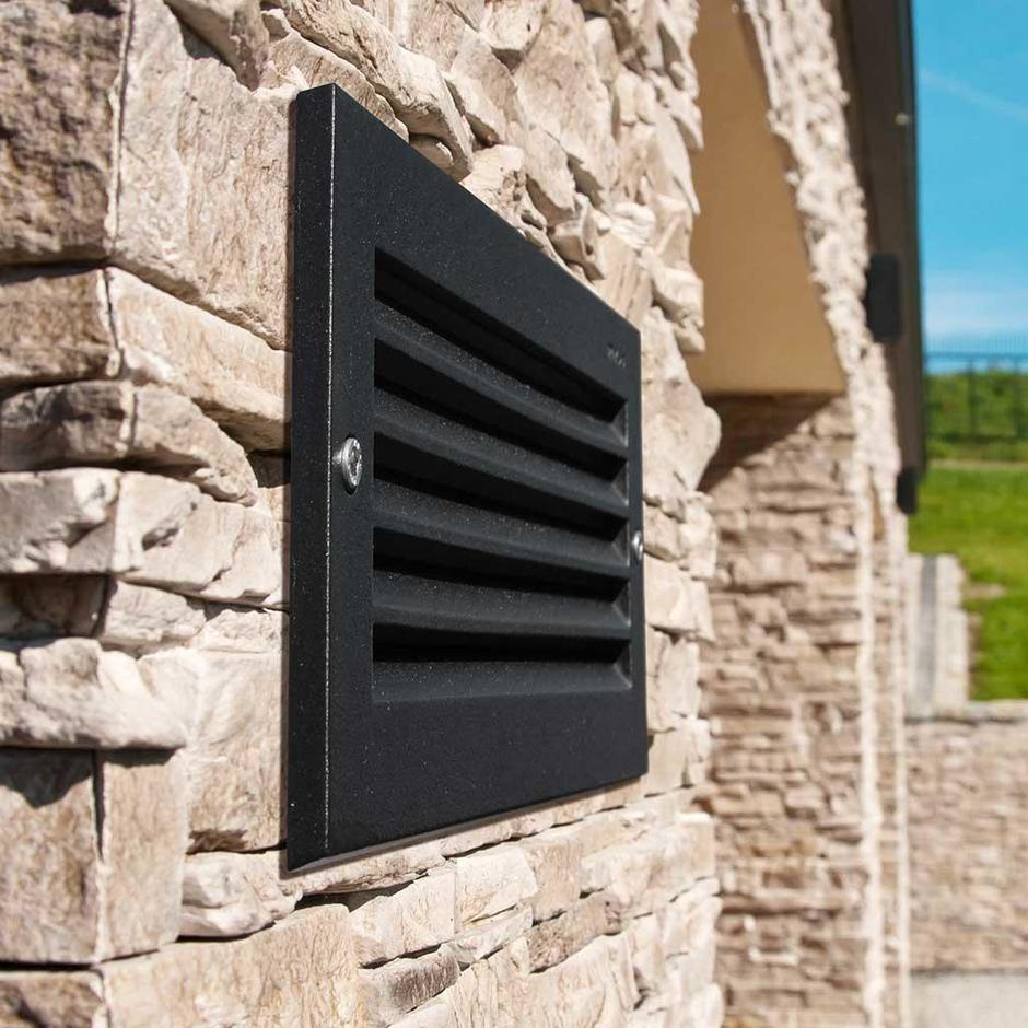 Grimstad LED Outdoor Recessed Wall Light