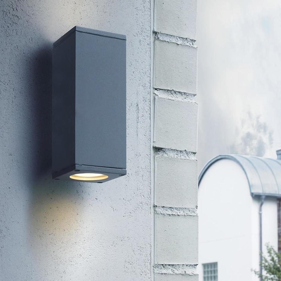 Sandvik Outdoor LED Up/Down Wall Lights