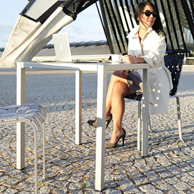 Buy inside out tables by fermob outdoor furniture the for Html table inside th