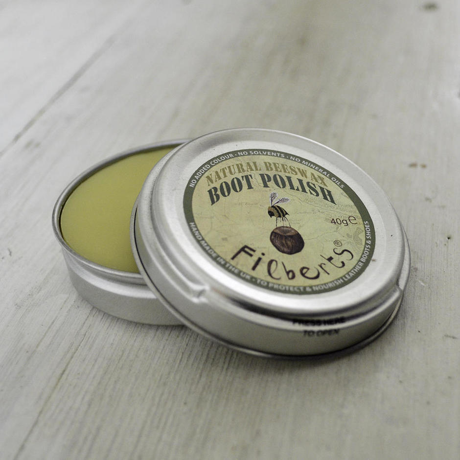 Natural Beeswax Boot Polish